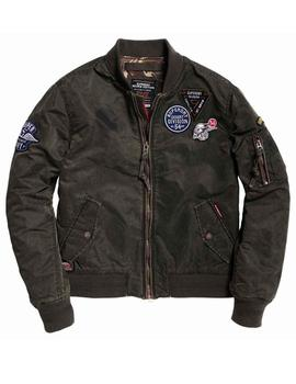 Superdry Cazadora Hombre Limited Issue Flight Bomb