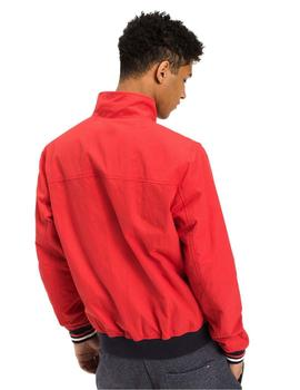 Tommy Hilfiger Bomber 22 Basic Casual Roja Hombre