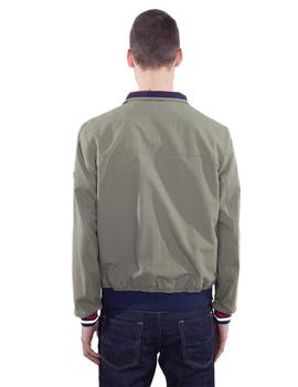 Tommy Hilfiger Bomber Hombre Basic Casual Kaki