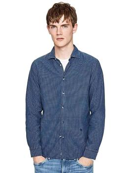 Pepe Jeans Camisa Hombre Kaiden Azul