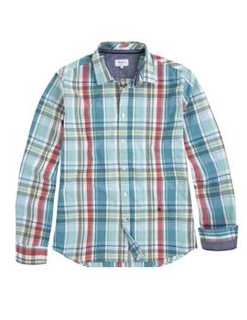 Pepe Jeans Camisa Hombre Edwin Cuadros Verde