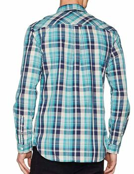 Tommy Jeans Camisa Hombre Check
