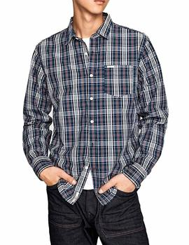 Pepe Jeans Camisa Hombre Corbett Ink