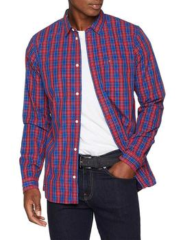 Tommy Jeans Camisa Hombre Essential Mini Check