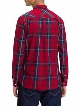 Tommy Jeans Camisa Hombre Essential Big Check