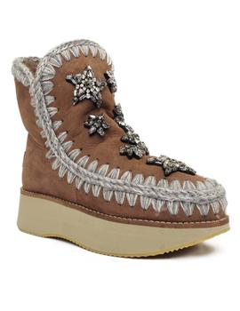 Mou Bota Mujer Eskimo Sneakers Star Patches