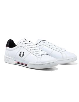 Fred Perry Zapatilla Hombre Leather Blanco