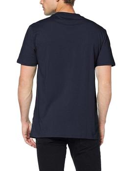 Tommy Jeans Camiseta Hombre Essential Box Logo Marino