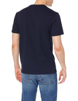 Tommy Jeans Camiseta Hombre Tommy Scrip Marino