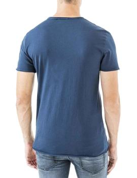 Antony Morato Camiseta Hombre Less Is Bore Marino