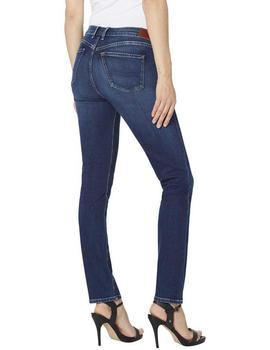 Pepe Jeans Vaquero Mujer Lucy Azul Oscuro