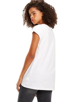 Tommy Jeans Camisetas Mujer Essential Blanco