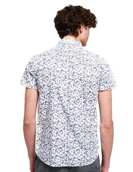 Superdry Camisa Hombre Premium Shoreditch S/S Blanco
