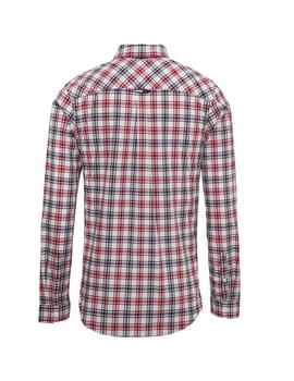Camisa Hombre Tommy Jeans Essential Multi Rojo