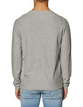 Jersey Hombre EDC By Esprit Finito Gris