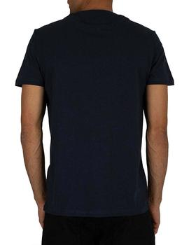 Camiseta Hombre Tommy Jeans Essential Logo Marino