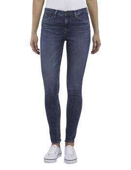 Vaquero Tommy Jeans Mid Rise Skinny Nora Azul Oscuro Mujer