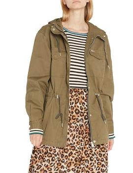 Parka Tommy Jeans Essential Cotton Verde Mujer