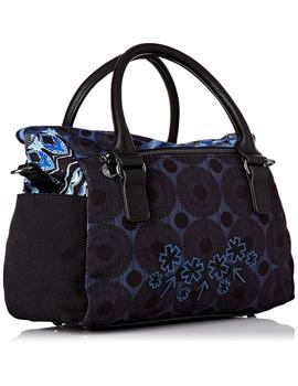 Bolso Mujer Desigual Blue Friend Loverty Blue Indigo