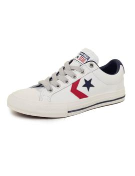 Zapatillas Niños Converse Star Player Leather Blancas