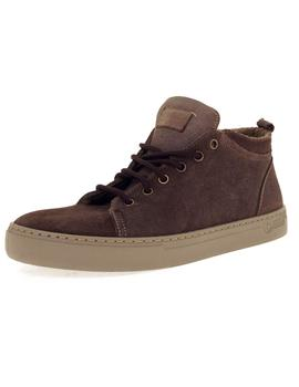 Bota Hombre Natural World Suede Wool Marrón
