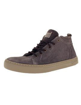 Bota Hombre Natural World Suede Wool Gris