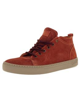 Bota Hombre Natural World Suede Wool  Teja