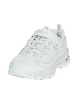 Zapatillas Niños Skechers D´Lites In The Clear Blanco