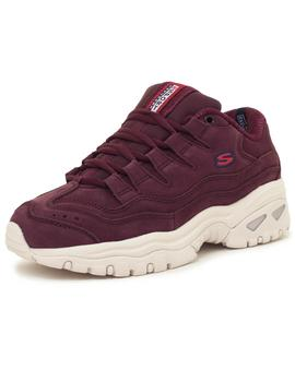 Zapatillas Mujer Skechers Energy Wave Dancer Burgundy