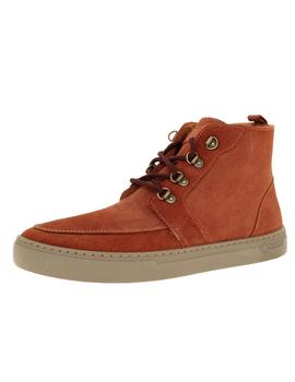 Bota Hombre Natural World Indi Suede Wool Teja