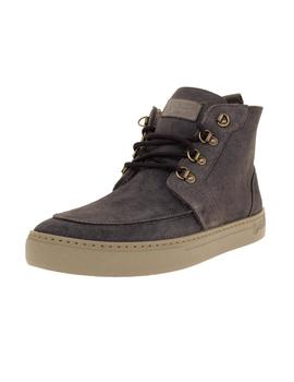 Bota Hombre Natural World Indi Suede Wool Gris