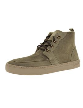 Bota Hombre Natural World Indi Suede Wool Kaki