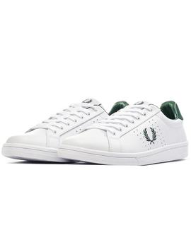 Zapatillas Mujer Fred Perry B721 Leather Blanco