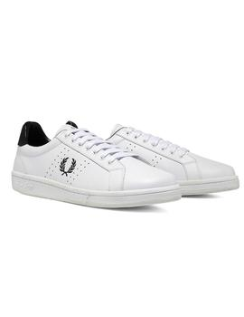 Zapatillas  Fred Perry B721 Leather Blanco