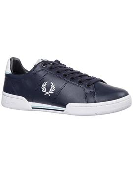 Zapatillas Fred Perry B722 Leather Marino