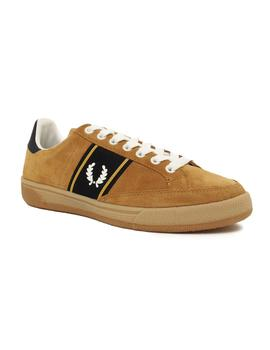Zapatillas Fred Perry B3 Suede Marrón