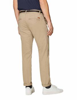 EDC By Esprit Pantalones Hombre Chino Beige