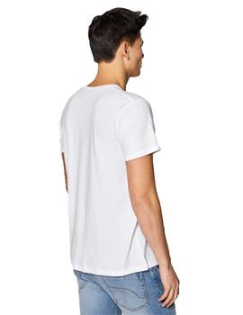 Camiseta Hombre EDC By Esprit Artwork Off White