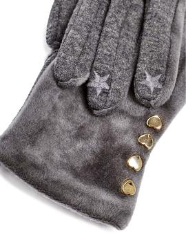 Guantes Mujer Esprit Cosyjersglove Gris