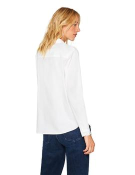 Blusa Mujer Esprit New Cruise Blanco