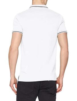 Lee Polo Hombre Pique Polo Regular Blanco