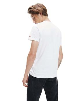 Camiseta Hombre Tommy Jeans Essential 1985 L White