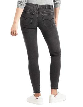 Vaquero Mujer Levis Innovation Super Skinny Word On The Gris