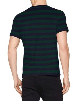 Camiseta Hombre Levis Ss Set In Sunset Pocket Planter Verde