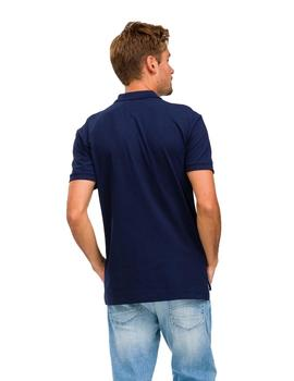 Polo Hombre Tommy Jeans Classics Solid Stretch Marino