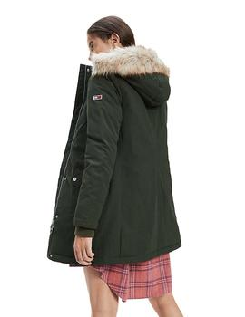 Parka Mujer Tommy Jeans Technical Down Verde
