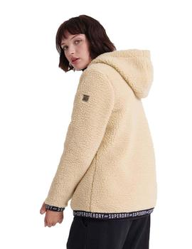 Chaqueta Mujer Superdry Storm Urban Overhead Beige