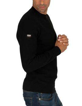Jersey Hombre Superdry Academy Negro