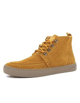 Bota Natural World Indi Suede Wool Mostaza