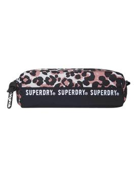 Estuche Mujer Superdry Montana Pencil Case Nefro/Animal Prin